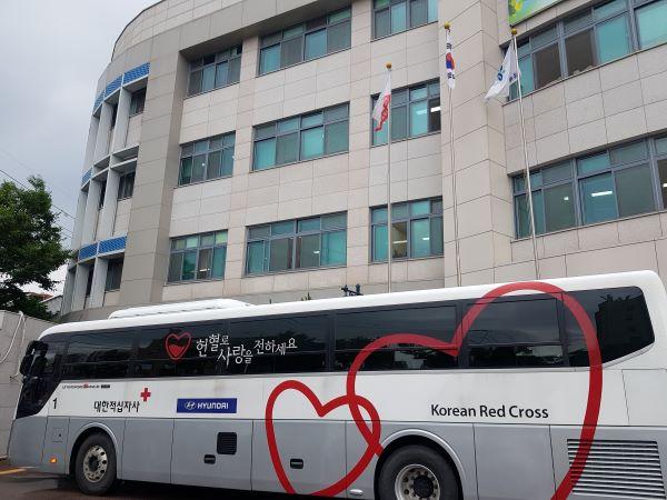 동부교육지원청, 코로나-19 극복 혈액나눔(헌혈) 봉사활동 실시